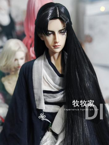 BJD Wig Girl Long Hair for SD/MSD/YOSD Size Ball-jointed Doll