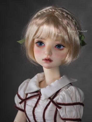 BJD Wig Girl Gold/Chocolate...