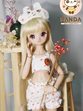 BJD Clothes Girl Vest and S...