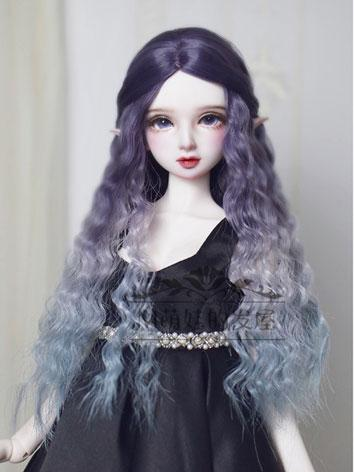 BJD Wig Girl Long Curly Hair for SD/MSD/YOSD Size Ball-jointed Doll