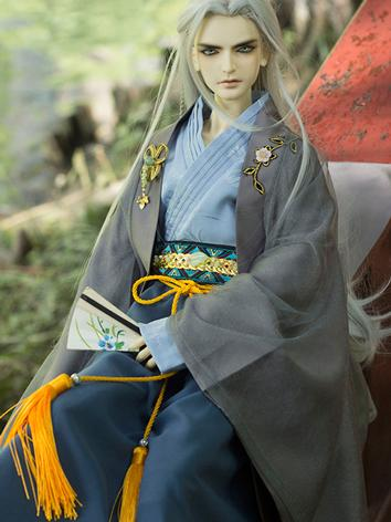 BJD Clothes Chinese Ancient Male Suit for SD/70CM Ball-jointed Doll