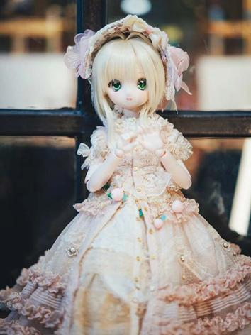 BJD Clothes Girl Western Style Dress for MDD/MSD Ball-jointed Doll