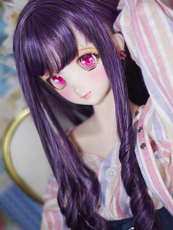 BJD Wig Girl Long Hair for SD/MSD Size Ball-jointed Doll