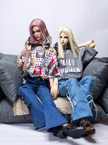 BJD Clothes Boy T-shirt and Trousers for 70CM Ball-jointed Doll