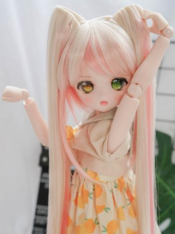 BJD Wig Girl Long Hair for SD Size Ball-jointed Doll