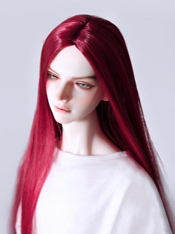 BJD Wig Boy Long Hair Wig f...