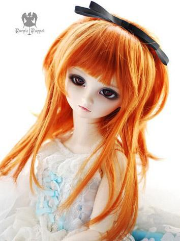In Stock BJD Wig Girl Long Hair H84 for MSD Size Ball-jointed Doll