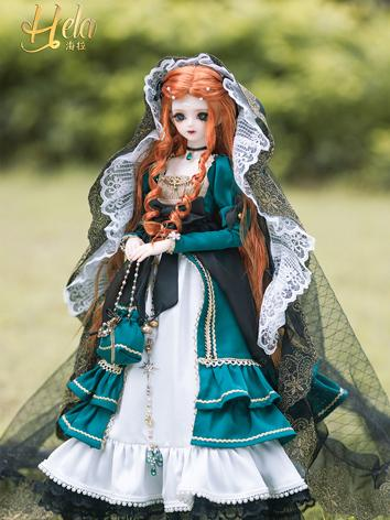 Bjd Clothes Hela Girl Dress Suit Rc45-27 for MSD Ball-jointed Doll