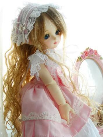 In Stock BJD Wig Girl Long Hair N60 for YOSD Size Ball-jointed Doll
