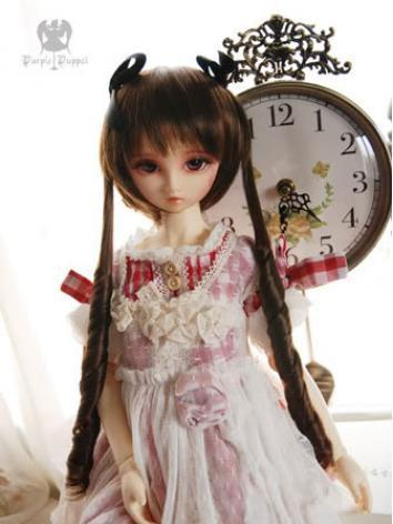 In Stock BJD Wig Girl Long Hair N71 for MSD Size Ball-jointed Doll
