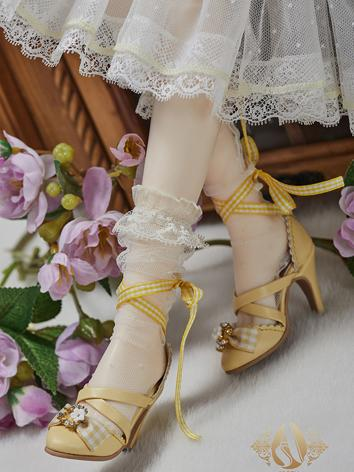 Bjd Shoes 1/3 Youth Yellow ...