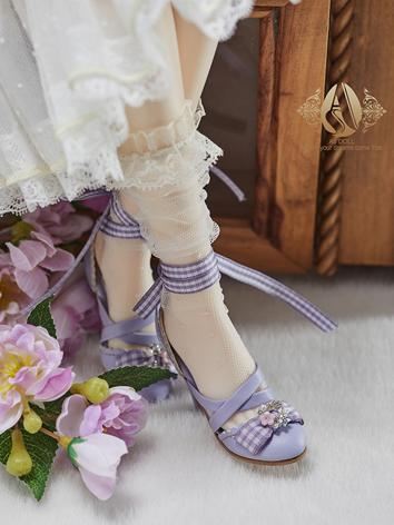 Bjd Shoes 1/3 Youth Purple ...