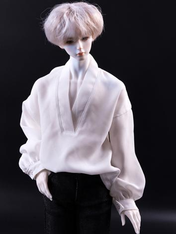 BJD Clothes White/Black Chi...