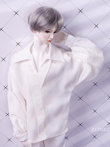 BJD Clothes White Chiffon S...