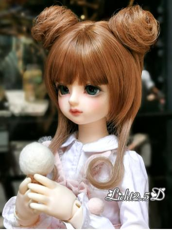 BJD Wig Girl Brown Hair [NO...