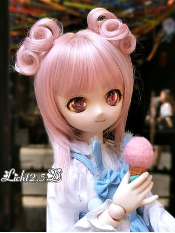BJD Wig Girl Pink Hair [NO....