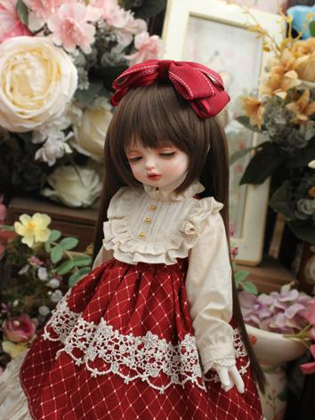 BJD Clothes Girl Western Style Dress for SD/MSD/YOSD Size Ball-jointed Doll
