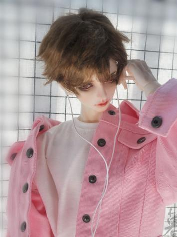 BJD Wig Boy Wig Short Hair for MSD Size Ball-jointed Doll