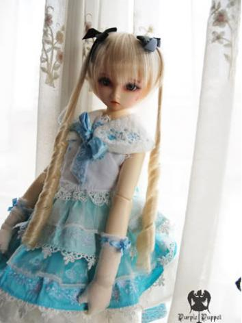 In Stock BJD Wig Girl Long Hair N71 for SD Size Ball-jointed Doll