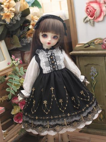 BJD Clothes Girl Western St...