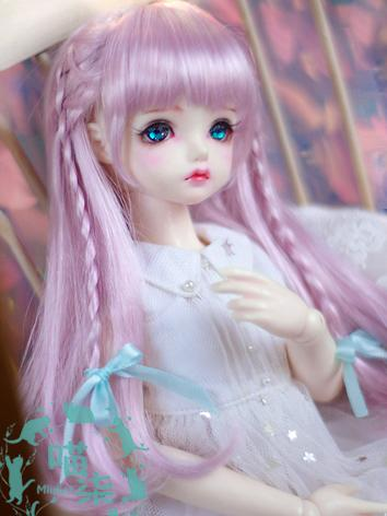 BJD Wig Girl Light Gold/Lig...