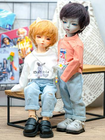 BJD Clothes Boy Top and Sho...