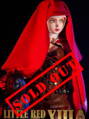BJD Little Red Riding Hood Girl 59cm Ball-jointed Doll