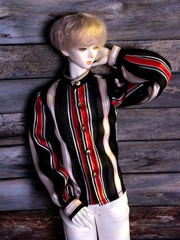 BJD Clothes Stripe Chiffon ...