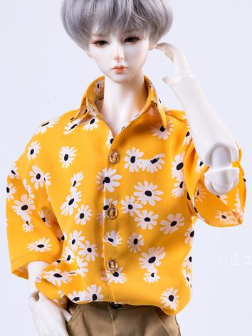 BJD Clothes Yellow Chiffon ...
