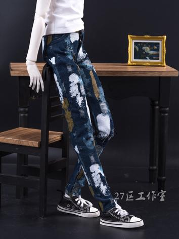 BJD Clothes Jeans Trousers ...