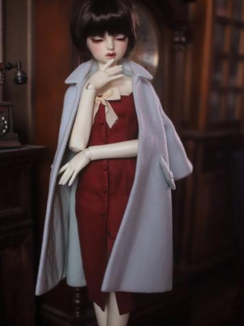 BJD Clothes Girl Outer Coat...