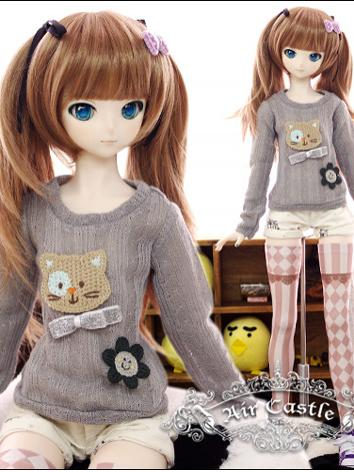 BJD Clothes Girl Top and Sh...