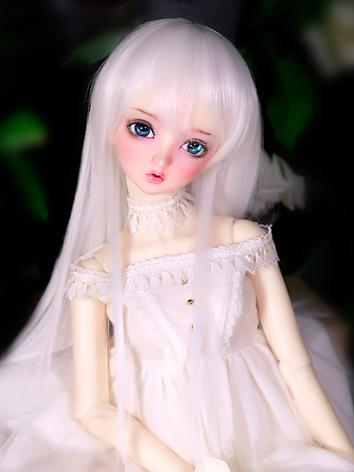 BJD Wig Boy/Girl White/Gold/Brown/Silver Hair Wig for SD Size Ball-jointed Doll