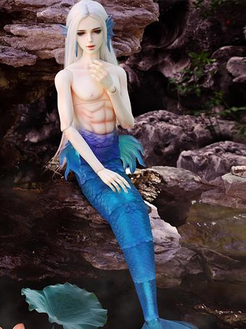 Limited Time BJD QingMing SP Merman(Transparent Merman Body) 71cm Ball-jointed Doll