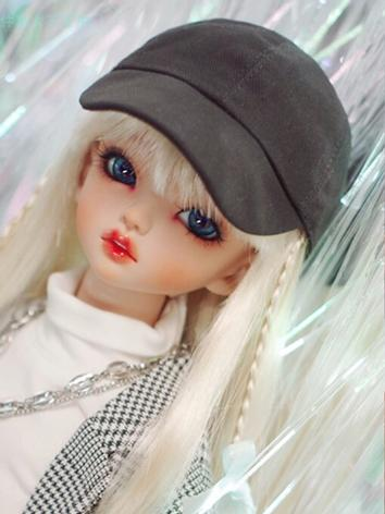 BJD Wig Girl/Boy White/Black Hat for SD/MSD/YOSD Size Ball-jointed Doll