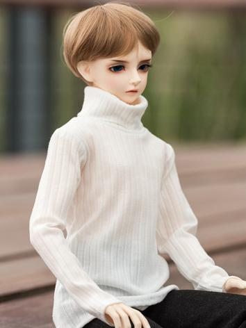 BJD Clothes Black/White Swe...