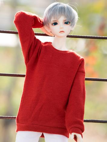 BJD Clothes Gray/Red/Chocol...