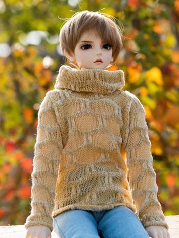 BJD Clothes Yellow Sweater ...