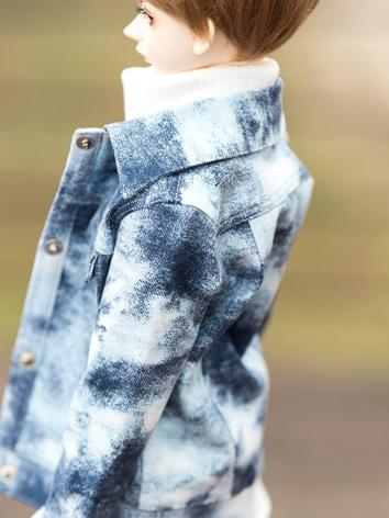 BJD Clothes Jeans Coat Outf...