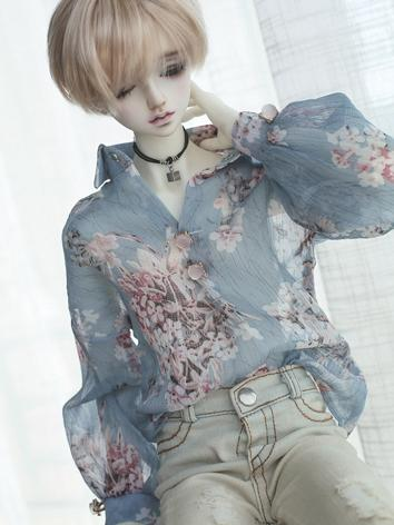 BJD Clothes Boy Chiffon Shirt for SD17/70CM/POPO68 Size Ball-jointed Doll
