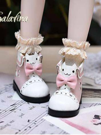 BJD Girl 1/4 1/6 Shoes Flat Boots for YOSD/MSD Ball-jointed Doll