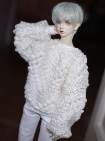 BJD Clothes White Sweater/T...