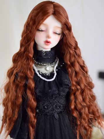 BJD Wig Girl Curly Hair for...