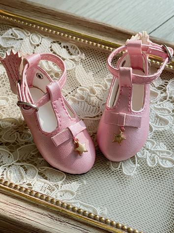 Bjd Shoes 1/6 Girl Pink Sho...