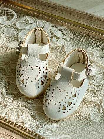 Bjd Shoes 1/6 Girl White Sh...