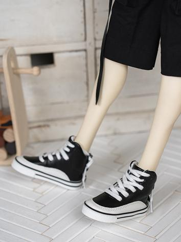 Bjd Shoes Black Flat Sports...