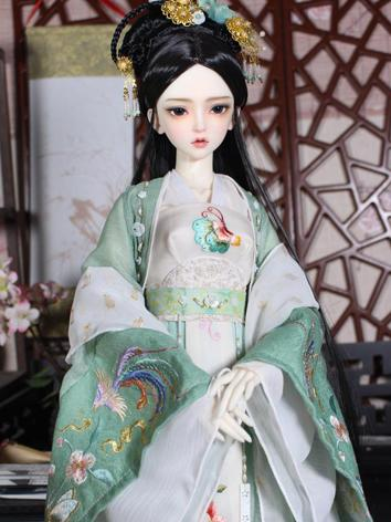 BJD 1/3 Clothes Girl Ancient Dress Outfit for SD size Ball-jointed Doll