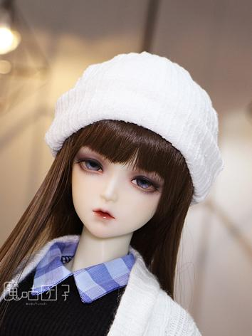 BJD Boy/Girl Black/Pink/White Knitted Hat for YOSD/MSD/SD Ball-jointed doll