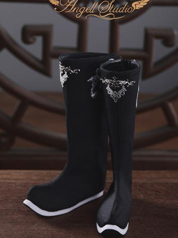 BJD 72/74cm Ancient Style Man's Knee Boots (Mystery Soul) for 70+ Size Ball-jointed Doll