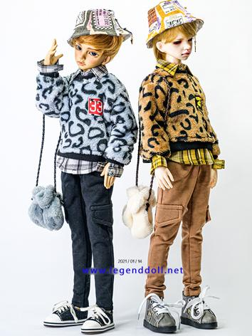 BJD Clothes Girl/Boy Brown/...